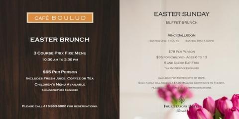 Easter Brunch - April 5, 2015