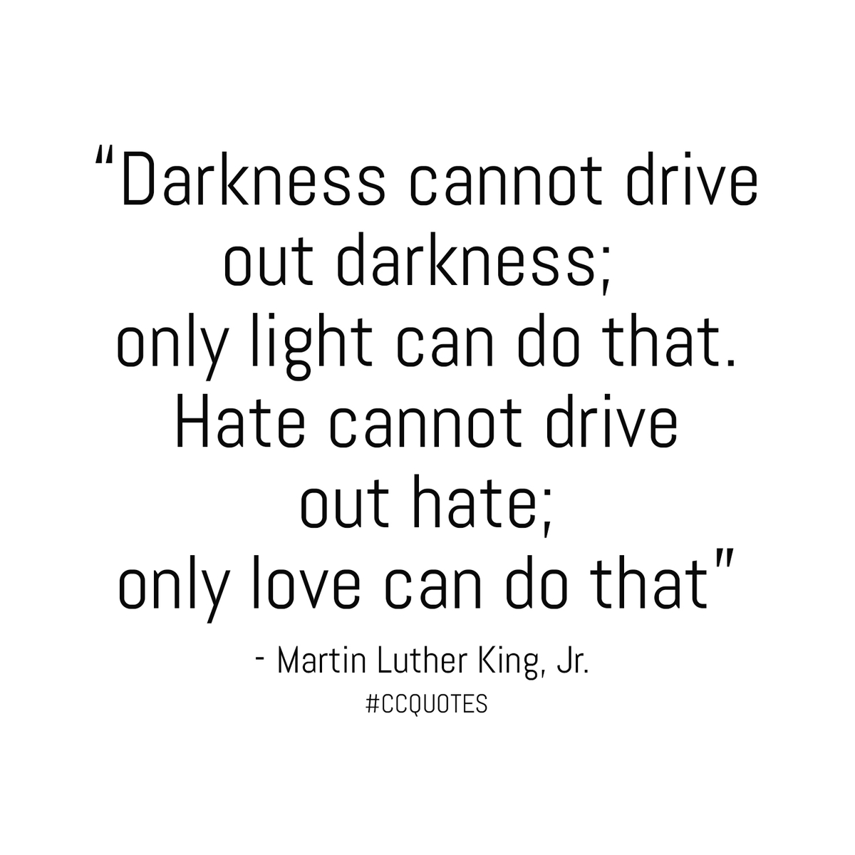 #CCQUOTES Martin Luther King,jr quote
