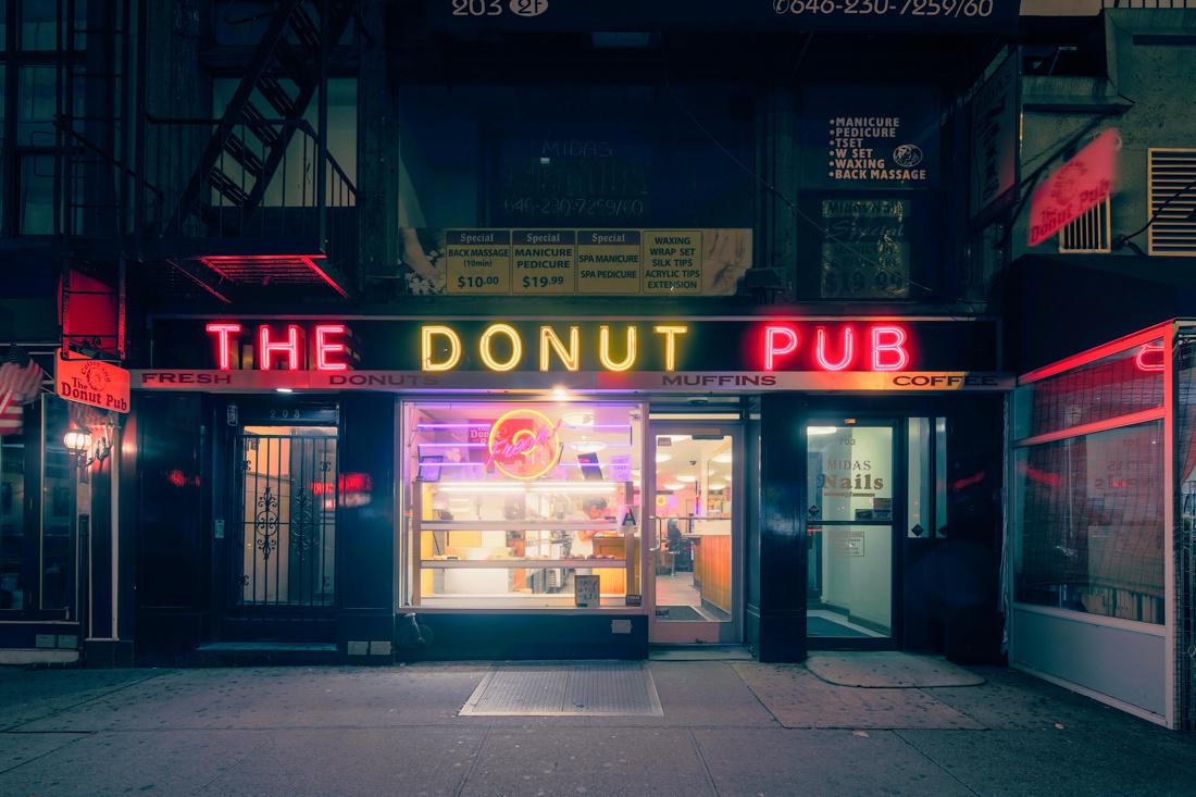 The Donut Pub #1, New York, NY, 2013