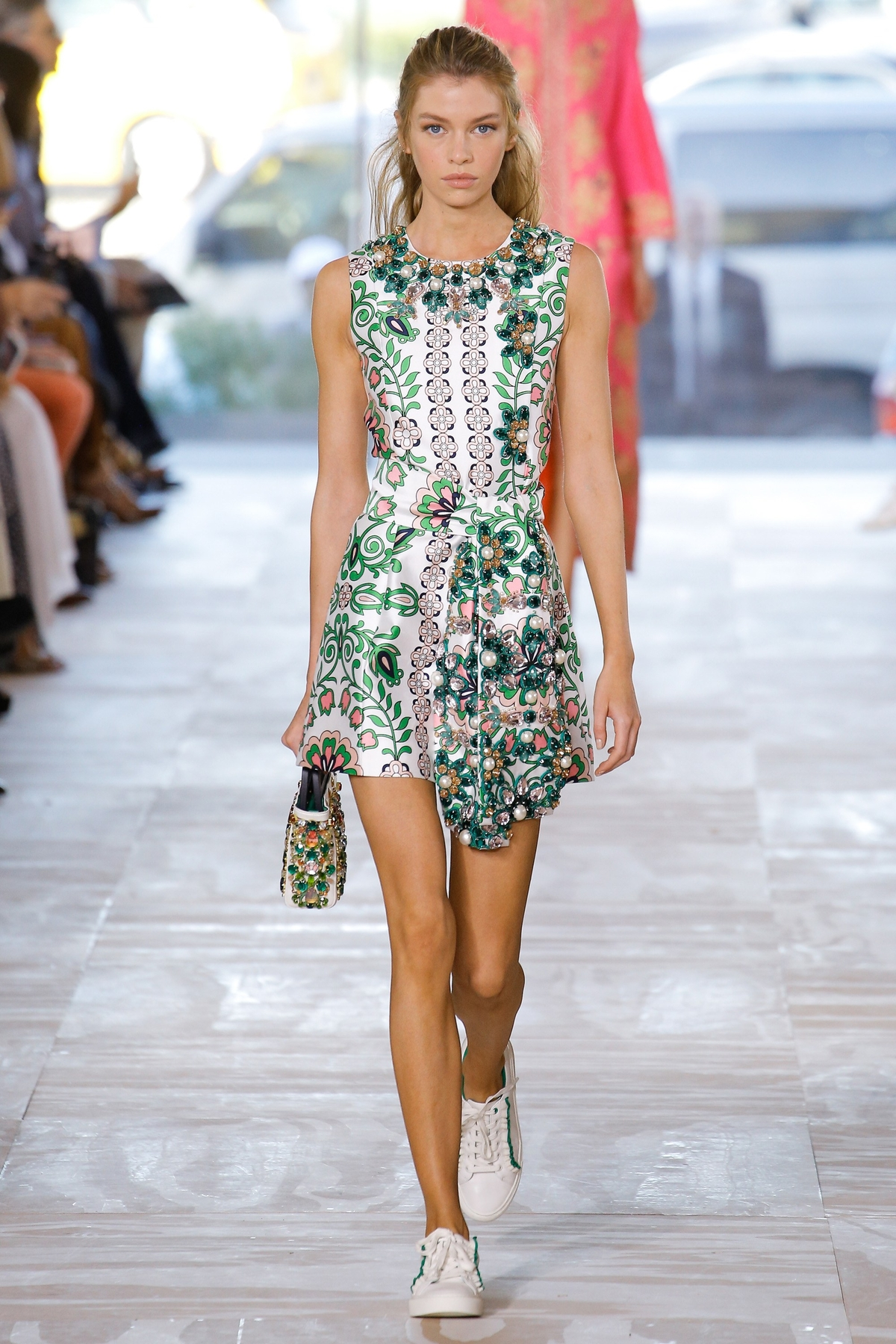 Tory Burch Fashion Show, Ready to Wear Collection Spring Summer 2017 in New York