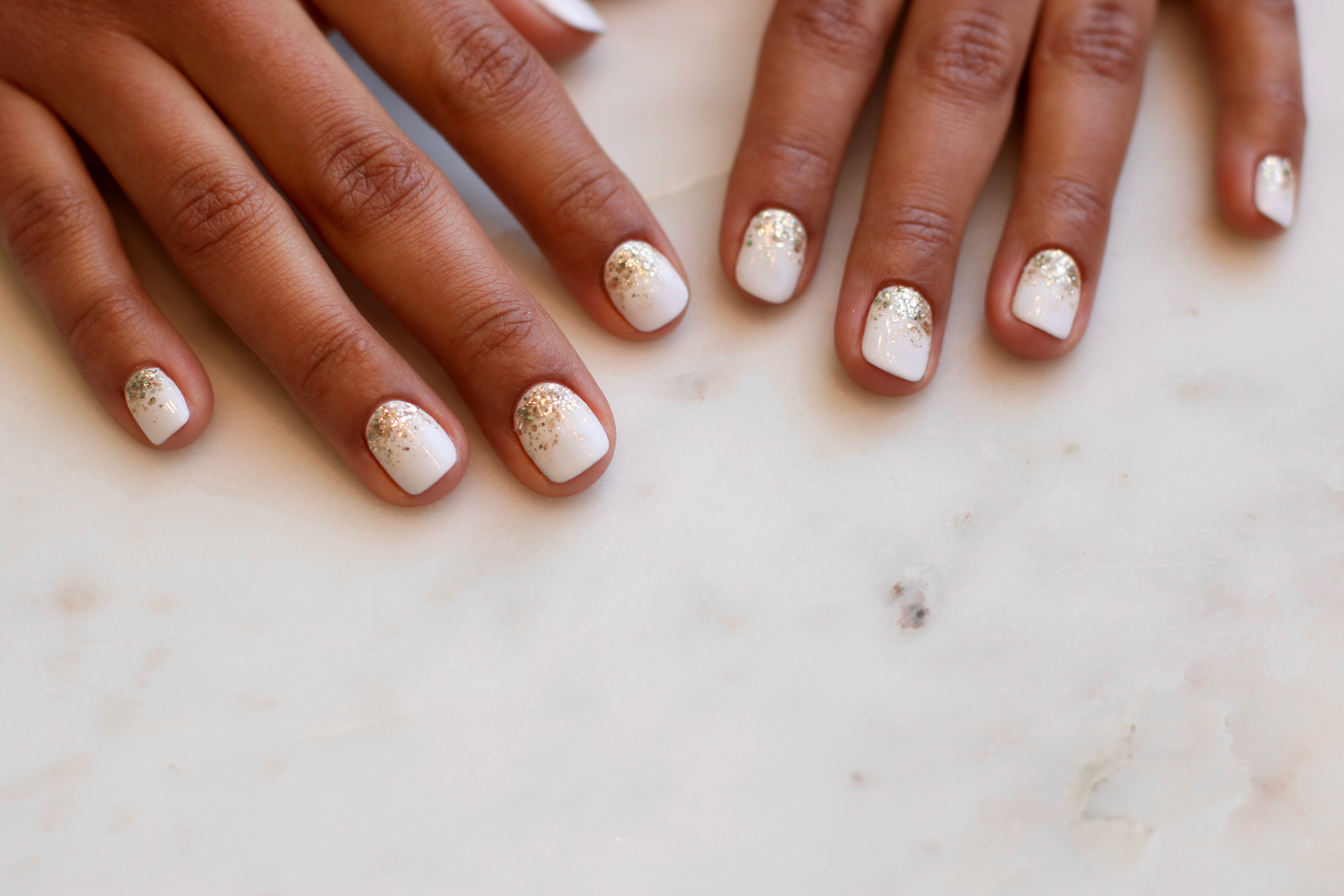 New Years Eve Nails with Her Majesty\'s Pleasure - Coco & Cowe