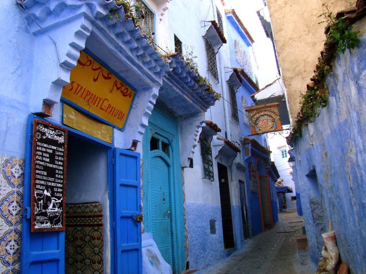 Blue City of Africa