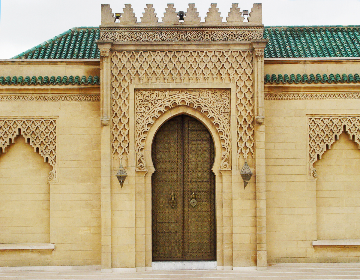 Door-at-the-Mausoleum-of-Mohammed